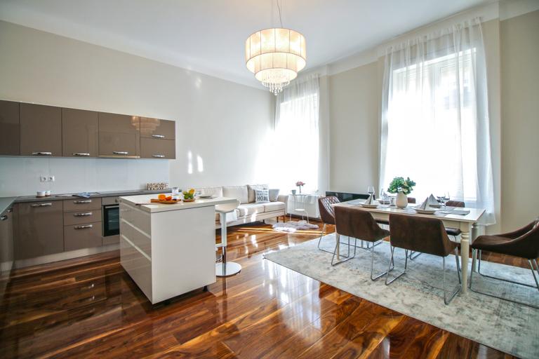 Balzac utcai lakás home staging - Design2Sell